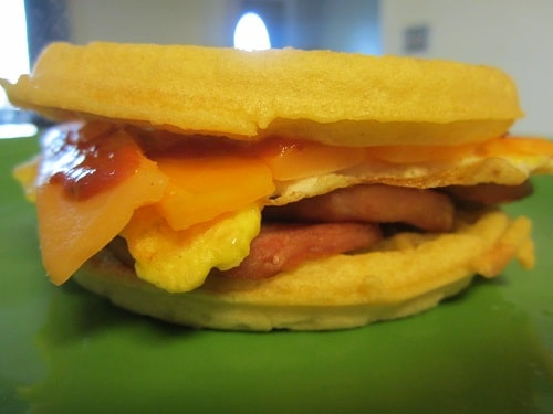 Spam And Egg Breakfast Sandwiches Recipes — Dishmaps