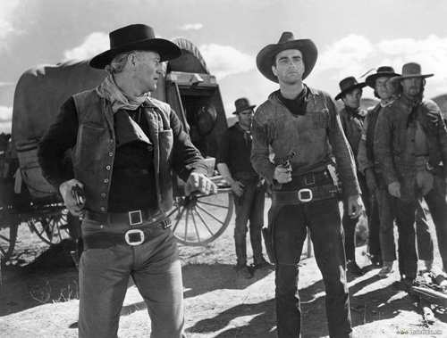 Red river western movie film john wayne