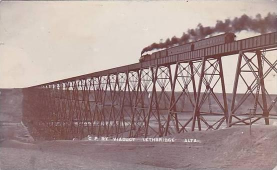 high level bridge oldman river lethbridge canada