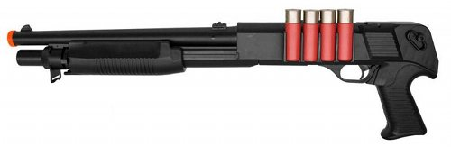 spring action airsoft shotgun