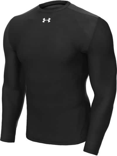 Vintage athletic undershirt in black color.