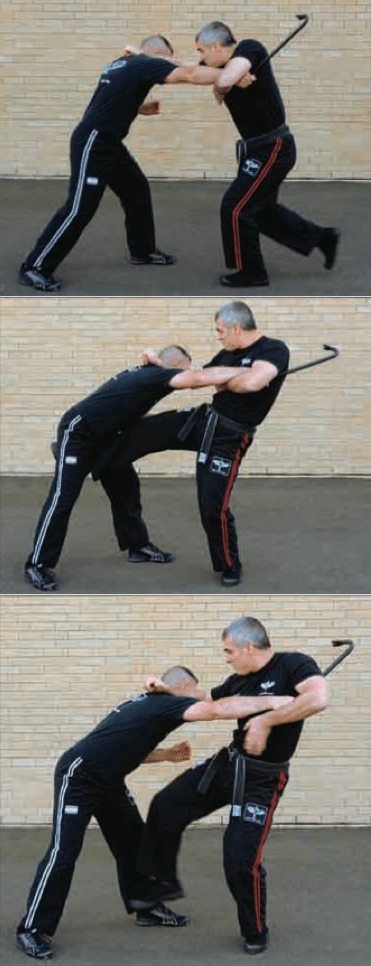 Krav Maga Technique of the Month: Overhand Direct One-Handed Strike Defense | The Art of Manliness