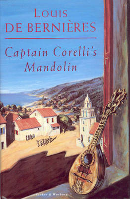 Captain corelli's mandolin by Louis de Bernieres, book cover.