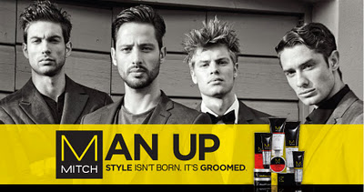 man up mitch hair gel ad advertisement