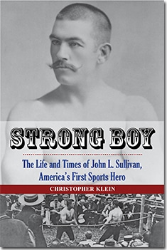 Strong boy by Christopher Klein, book cover.