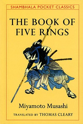 The book of five rings by Miyamoto Musashi, book cover.