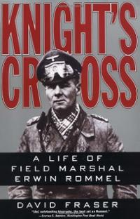 Knight's cross by David Fraser, book cover.
