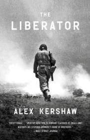 The liberator by Alex Kershaw, book cover.
