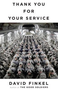 Thank you for your service by David Finkel, book cover.