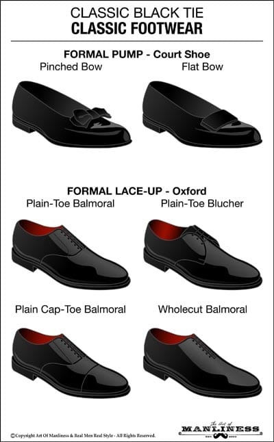 Flat Shoes For Black Tie Event