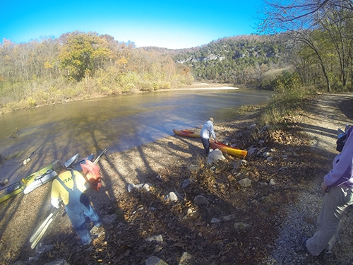 Kayaking the buffalo and final thoughts on finding adventure.