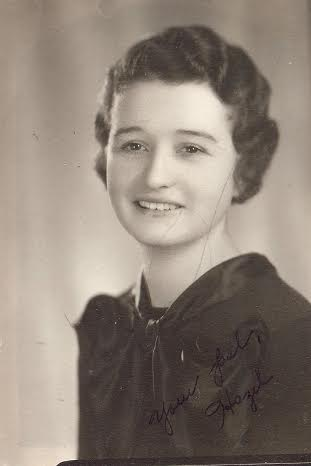 hazel lynes vintage young woman portrait