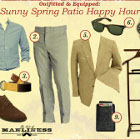Outfitted & Equipped: Sunny Spring Patio Happy Hour