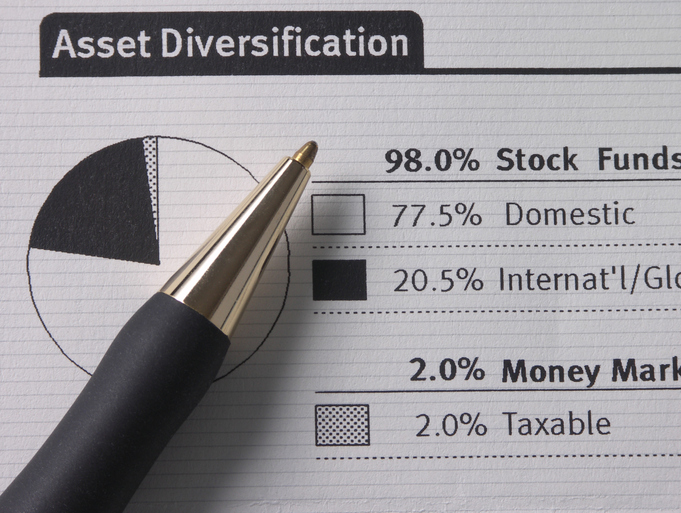 Vintage asset diversification page.