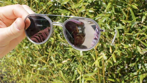 aviator sunglasses shades with mirror mirrored lenses