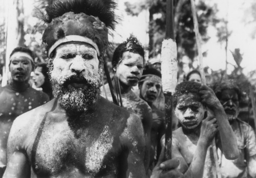 Vintage tribal family.