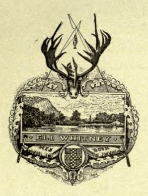 A bookplate by Eli Whitney.