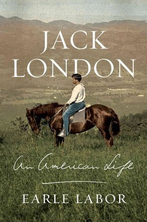 Book cover, jack london by Earle Labor.