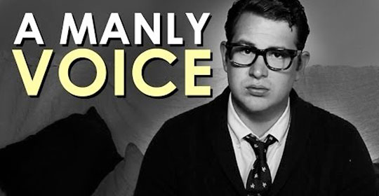 How to Make Your Voice Deeper   The Art of Manliness