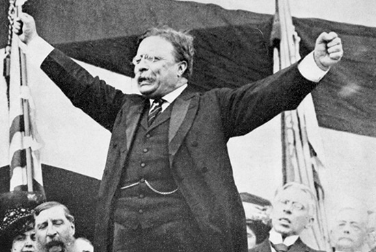 theodore teddy roosevelt arms outstretched power pose