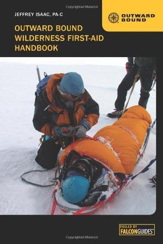 Book cover,Outward Bound Wilderness First Aid Handbook by Jeffrey Isaac.
