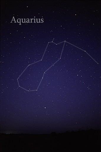 Representation of Aquarius on sky.