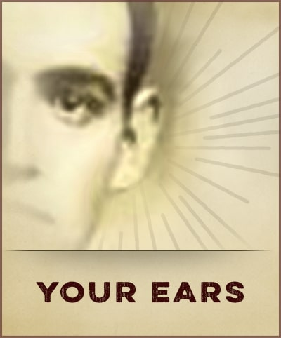 How to be a gentleman by your ears.