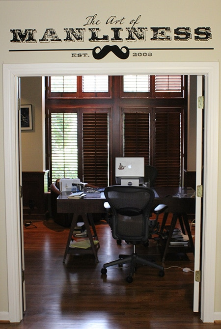 Art of manliness home office Tulsa ok.