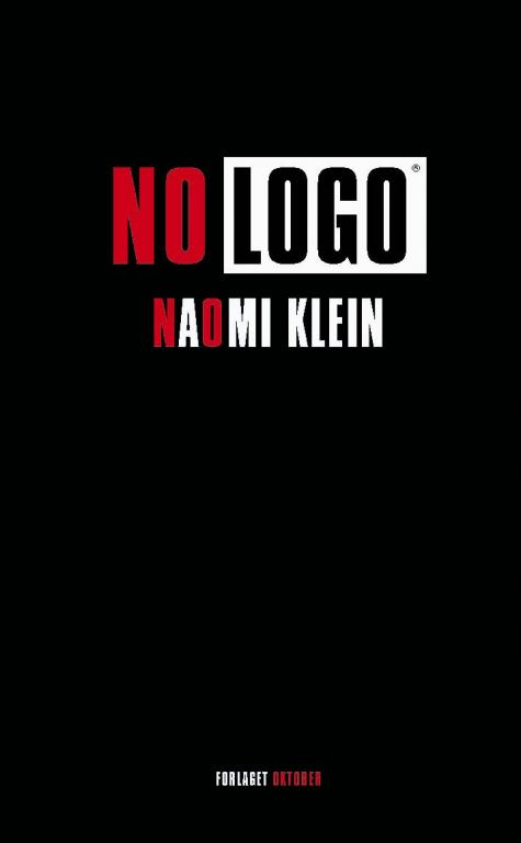 No Logo by Naomi Klein book cover