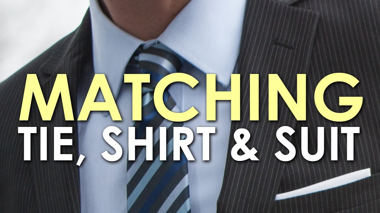 How to Match a Tie, Shirt, and Suit [VIDEO] | The Art of Manliness