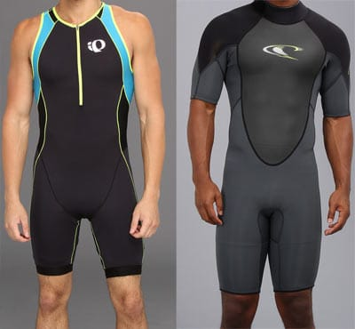 skin tight wetsuits for water sports