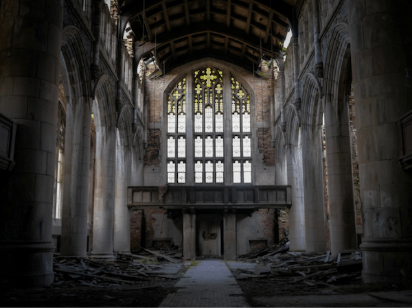 City Methodist Church, Gary, Indiana, opened in 1926