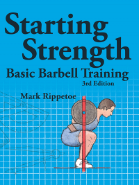 Book cover, starting strength by Mark Rippetoe.