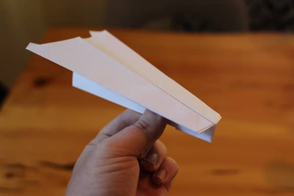 best paper airplane glider instructions