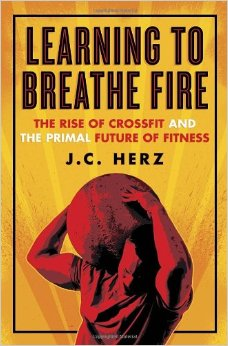 Book cover, learning to breathe fire by Jc Herz.