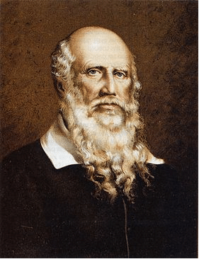 "Friedrich Jahn (1778-1852) ""The father of gymnastics."" painting portrait"