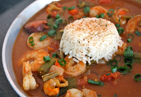 Shrimp + Crawfish Gumbo