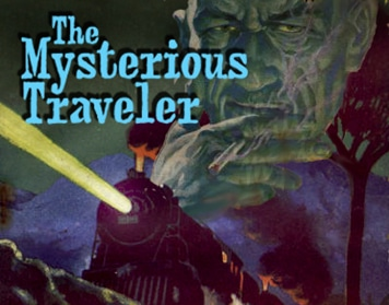 The poster of The Mysterious Traveler.