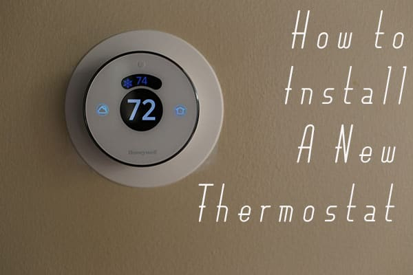install a new honeywell smart thermostat