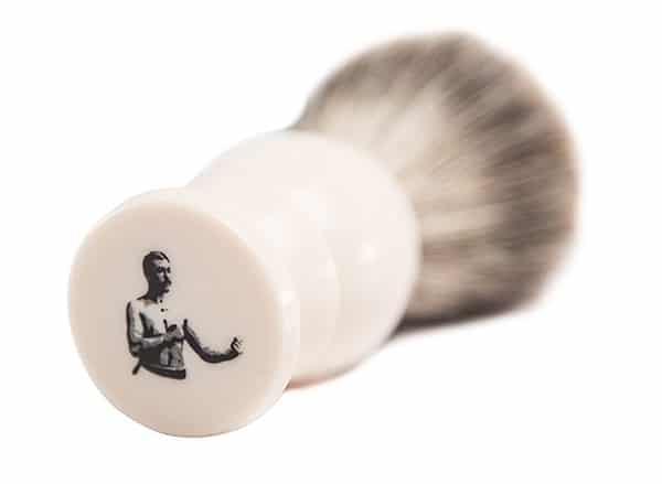 badger shaving brush art of manliness