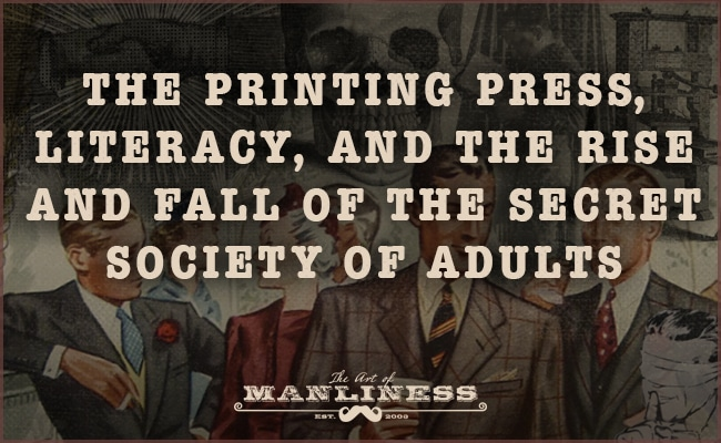 printing press literacy society of adults