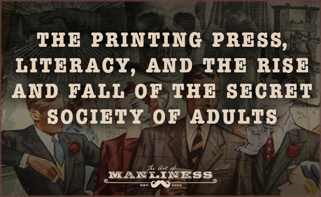 What It Means to Be an Adult | The Art of Manliness