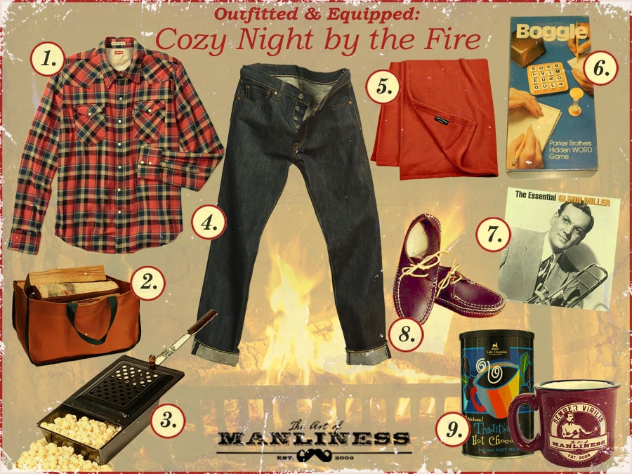 how to have a home date night by the fire