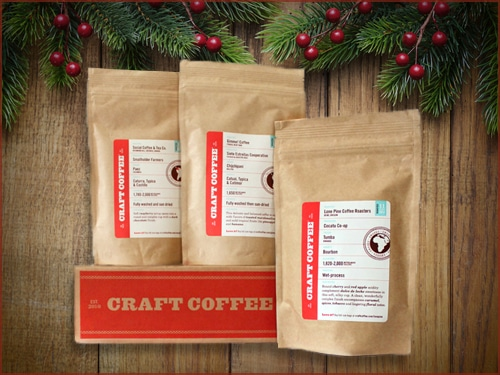 Craft coffee club subscription service.