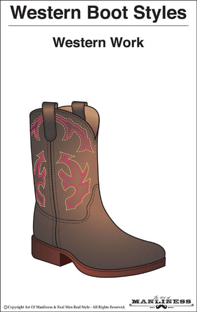 western boots styles work boot