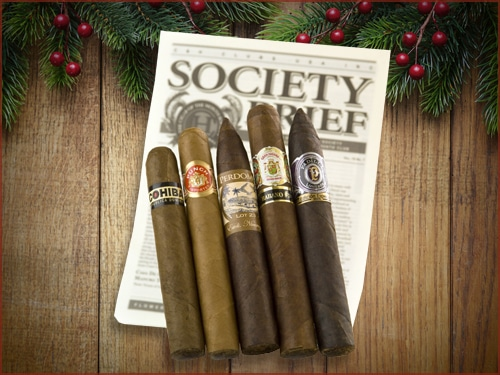 Cigar of the month club subscription service.