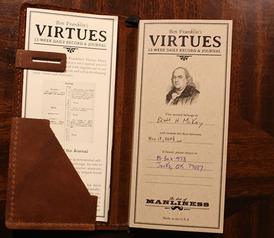 13 virtues of ben franklin essay Daylight saving time: benjamin franklin excerpts and commentary on the essay in , on april 26, 1784.