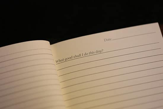 Benjamin franklin what good shall i do this day journal.