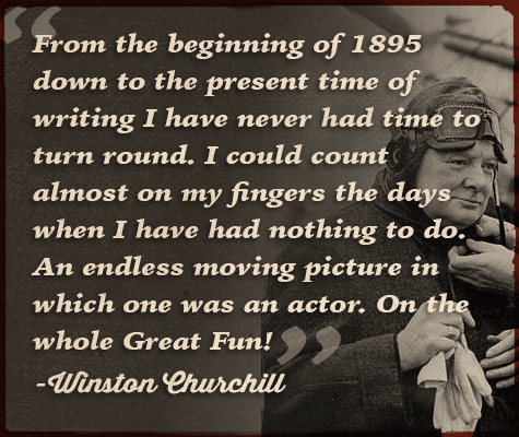 winston churchill quote endless moving picture