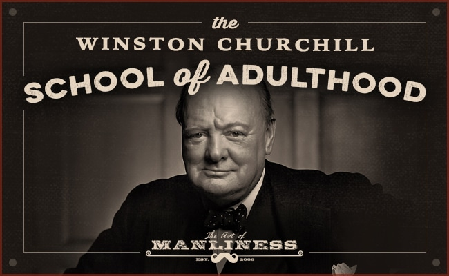 The Winston Churchill Header.